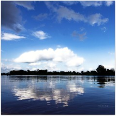 BLUE MEKONG (cisco ) Tags: blue sky clouds landscape cisco laos mekong donkhong champasak siphandon photographia goldstaraward photographia 4000isole