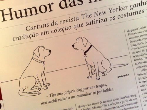 Blogs e cães New Yorkers por você.