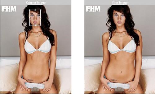 Megan Fox pone unos kilos