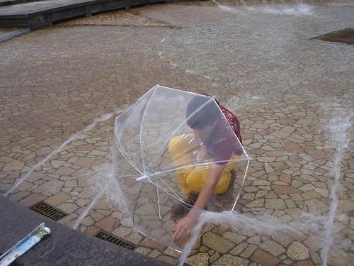 Protegiéndome del agua