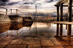 Summer Pier (·The Oracle·) Tags: pier hdr oshawa surrealphotography torontophotographer fantasyphotography theunforgettablepictures torontophotography oshawapier 100commentgroup —obramaestra— oshawawaterfront