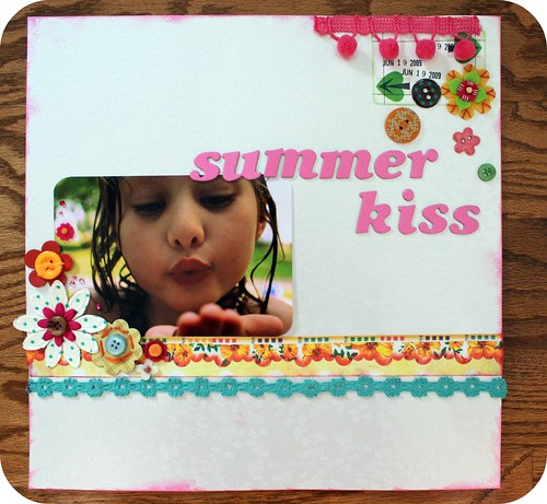 summer kiss by you.