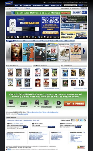 netflix movie rentals online