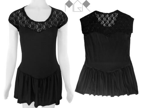 mini vestido con encaje diseñador independiente
