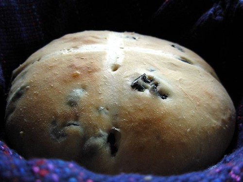 Olive and capers bread