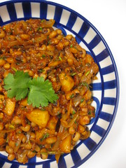 apple and black eyed pea spiced stew