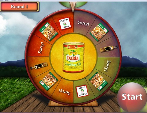 Dalda Wheel Of Fortune