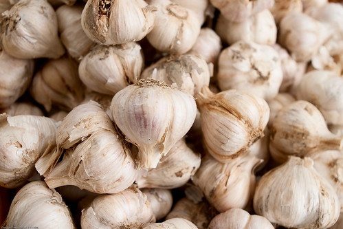 Garlic, Farmers Market / 20090828.10D.51891.P1 / SML (by See-ming Lee 李思明 SML)