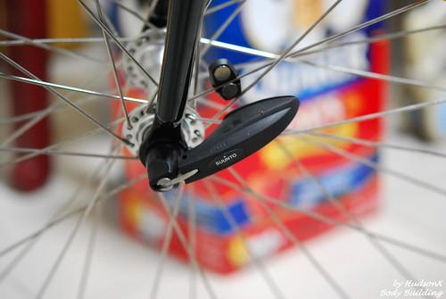 Road Bikd Pod 要置換掉前輪軸