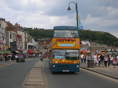 Scarborough 25th Aug 2009 (andy43167) Tags: buses scarborough northyorkshire mcw opentopbuses b58wul