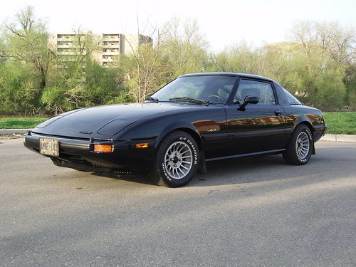 1981 Mazda RX-7 - a photo on Flickriver