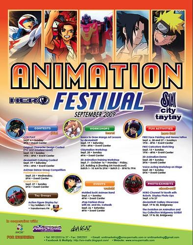 sm city taytay animation festival 2009