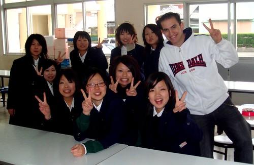 Infiltrado en un instituto japonés