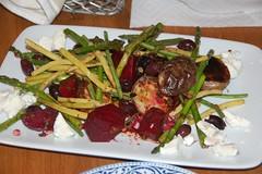 Grilled summer vegetables
