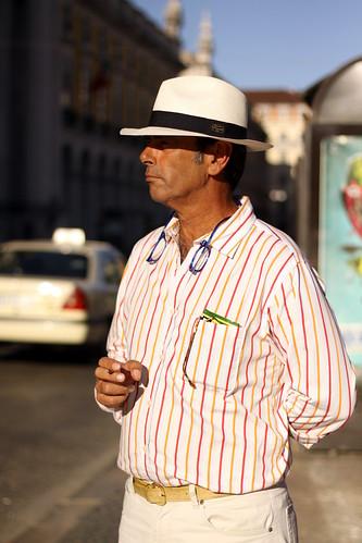 Um panamá sevilhano em Lisboa