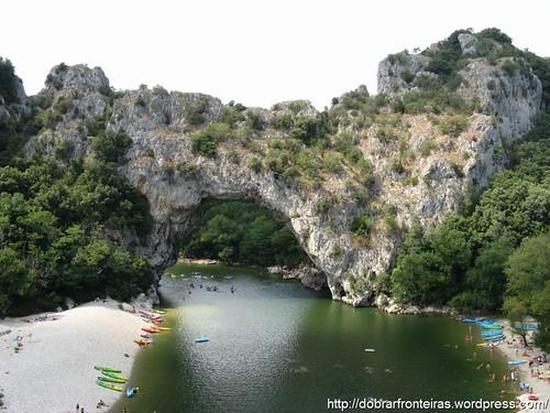 Pont d'arc, Ardèche, França
