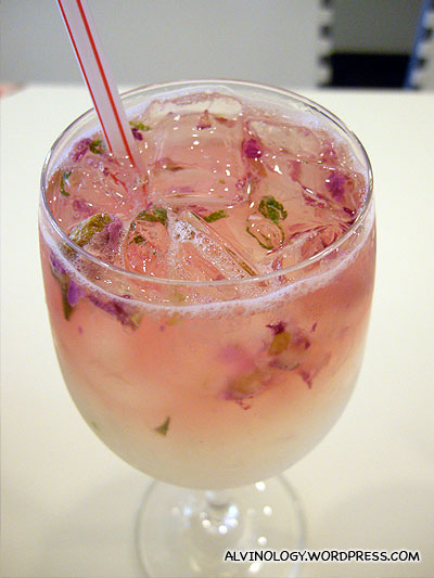 Rose lemon juice