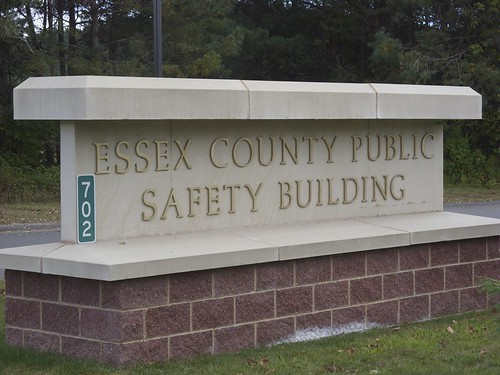 Orwelian name for the county jail: Essex County Public Safety Building