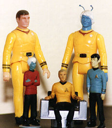 Will Decker, Andorian custom, w/ AMT figures