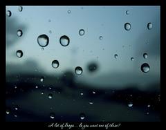 A lot of drops ... (Maisse) Tags: glass rain drops lluvia gotas raindrops droplet cristal pluja gotes