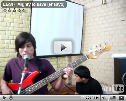 LBS MIGHTY TO SAVE-video