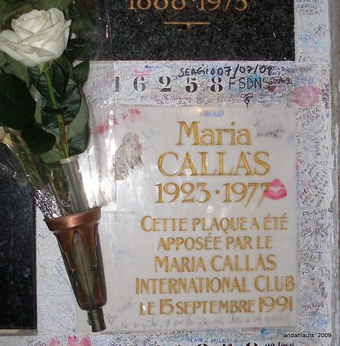 Tomb of Maria Callas