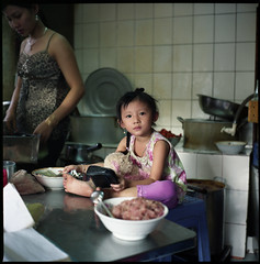 one hand in the money bowl (beetabonk) Tags: 120 6x6 tlr mediumformat square vietnam 124g fooddrink saigon district5 yashicamat mat124g cholon explored fujipro160s earthasia vnsgymfp160s0909007