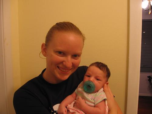 Aunt Amy and Savannah