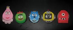 Yo Gabba Gabba cupcake