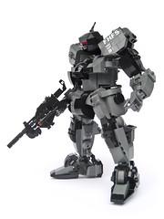 FHF S07 'Ujio' - Ground Type (Fredoichi) Tags: japanese robot lego space mecha mech fredoichi gundamtype sohowmanycommentscanonepictureholdanyway