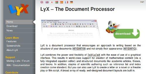 Screenshot-LyX
