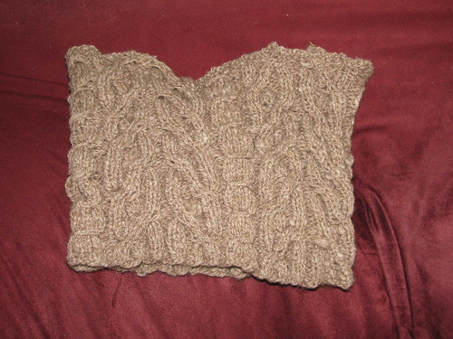 Cabled Cowl 6