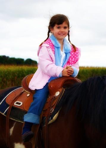 Brianna on horse