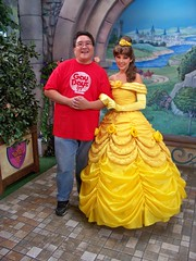 Me and Belle on Gay Days (Loren Javier) Tags: me disneyland belle fantasyland disneyprincess disneycharacters gaydays disneyprincesses beautythebeast disneylandcharacters disneylandcastmembers disneyprincessfantasyfaire lorenjavier