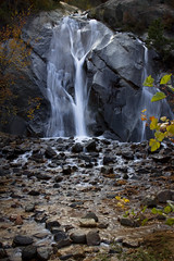 Helen Hunt Falls (kotobuki711) Tags: autumn fall water beautiful leaves rock waterfall october colorado scenic falls foliage coloradosprings co serene helenhuntfalls northcheyennecaonpark canon50d