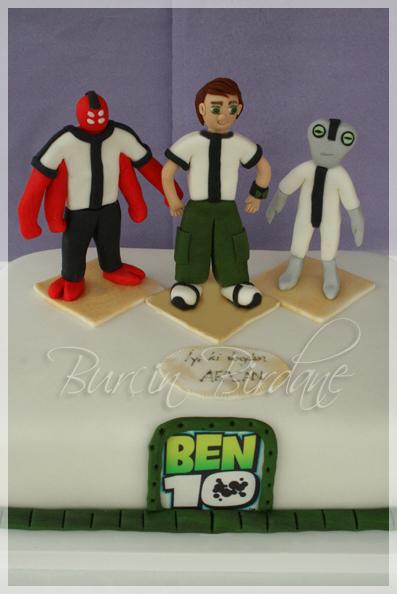 Ben10 Cake Can