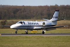 CS-DHN - 550-1098 - Netjets Europe - Cessna 550B Citation Bravo - Luton - 090404 - Steven Gray - IMG_3178
