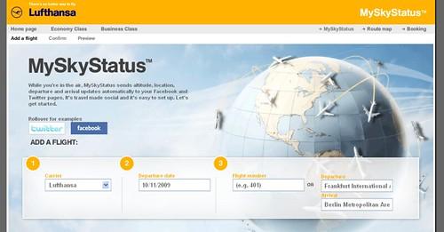 Lufthansa MySkyStatus