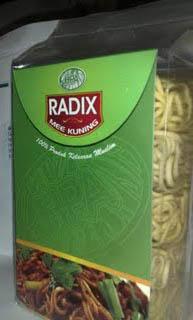 Mee Kuning Radix