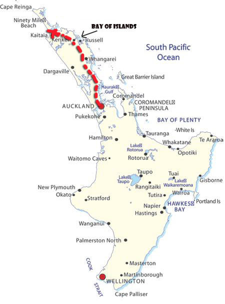 first leg of north island route