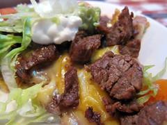 nuevo laredo cantina - zoom goes beef fajita nachos (aka nachos asada)