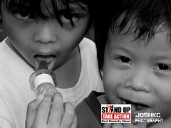 STAND UP-campaign against poverty (joshkc) Tags: poverty children asia philippines poor province mindanao standup remoteareas