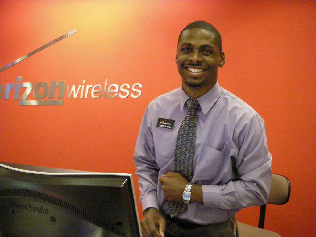 Chester Smith, Verizon Sales Representative