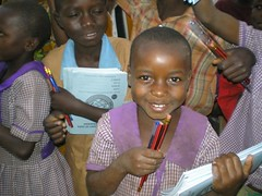 Matuwa student and new supplies