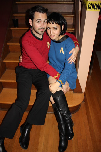 Rand was a nameless red-shirted ensign. I was girl-Spock. Guess which one of us is going to be vaporized first.