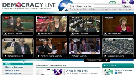 BBC Democracy Live
