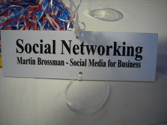 Social Networking for Business - Martin Brossman