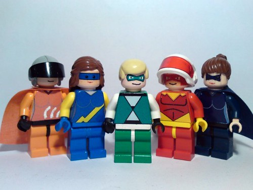 West Cliff Heroes custom minifig
