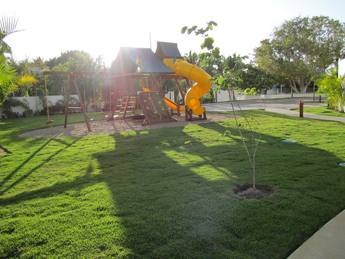 Playground close to Kids club