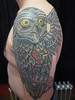 Mechanical Owl Tattoo - Final This is the
